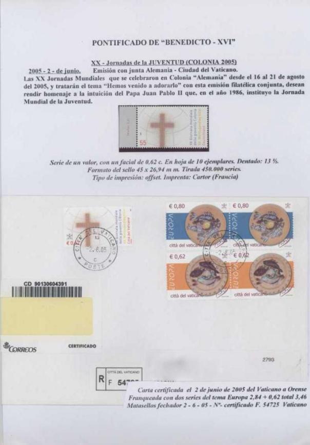 034 - JORNADAS DE LA JUVENTUD - COLONIA