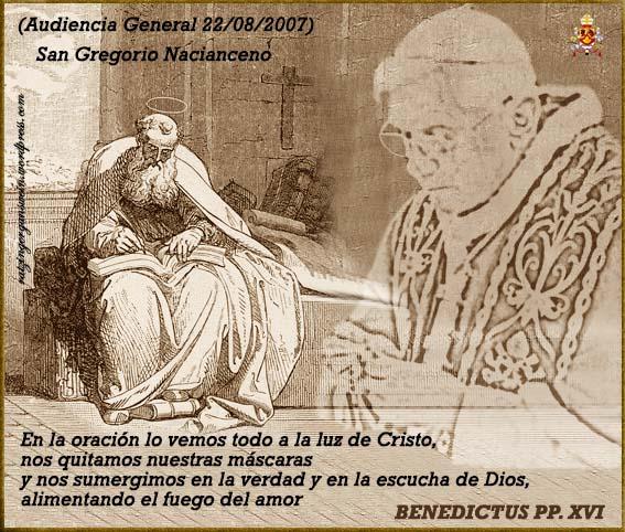 San Gregorio Nacianceno Audiencias Generales Ratzinger