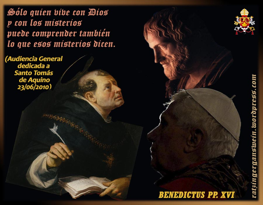 Santo Tomas De Aquino Ratzinger Gänswein