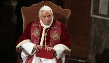 Pope Benedict XVI at Rome's Lutheran church