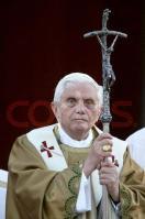 Pope Benedict XVI Leads Corpus Domini Procession