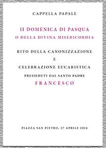 LIBRO CANONIZACIÓN JUAN XXIII Y JUAN PABLO II