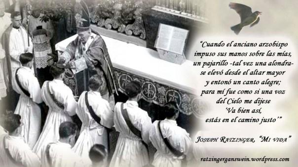 aniversario ordenacion ratzinger