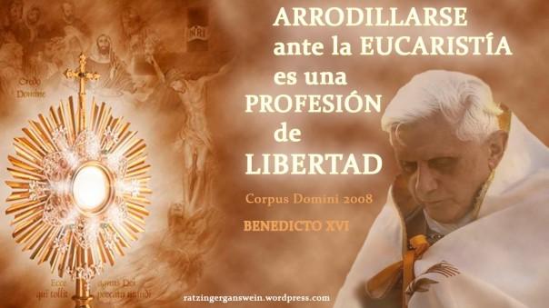 BENEDICTO CORPUS DOMINI 2008