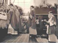 Primera misa de Georg Ratzinger: Joseph es subdiácono