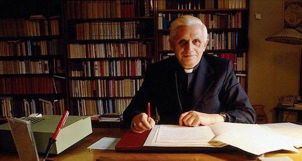 Cardinal Ratzinger in Rome