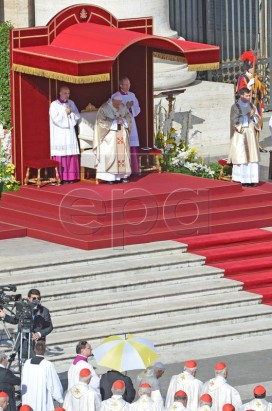 Pope: beatification mass of Paul VI