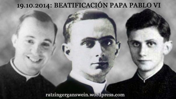 Beatificación Pablo VI