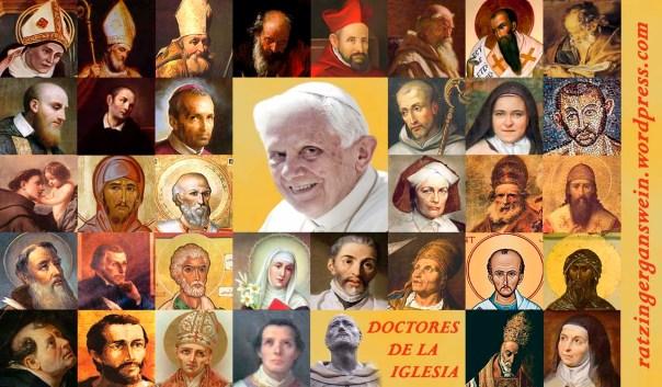 DOCTORES DE LA IGLESIA Y BENEDICTO