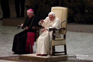 Pope Benedict XVI - Pablic Audience 9 Feb 2011