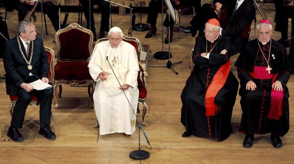 Irritation um Islam-Rede von Papst Benedikt XVI.