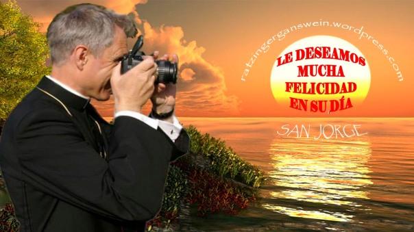 FELICIDADES MONSEÑOR GANSWEIN 2015