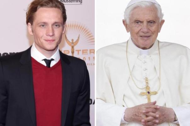 DPA. Mattias Schweighöfer y Benedicto XVI
