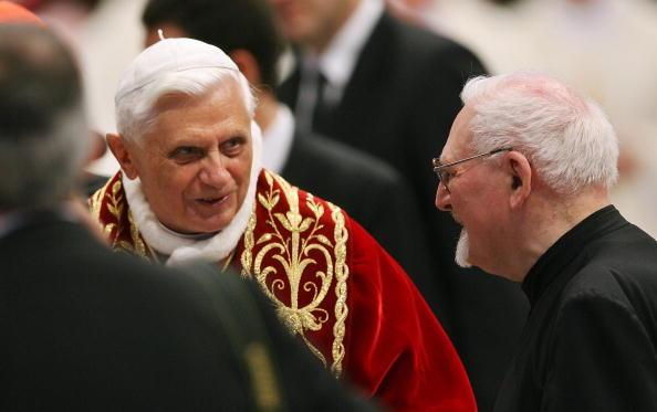 Ratzinger y Kolvenbach