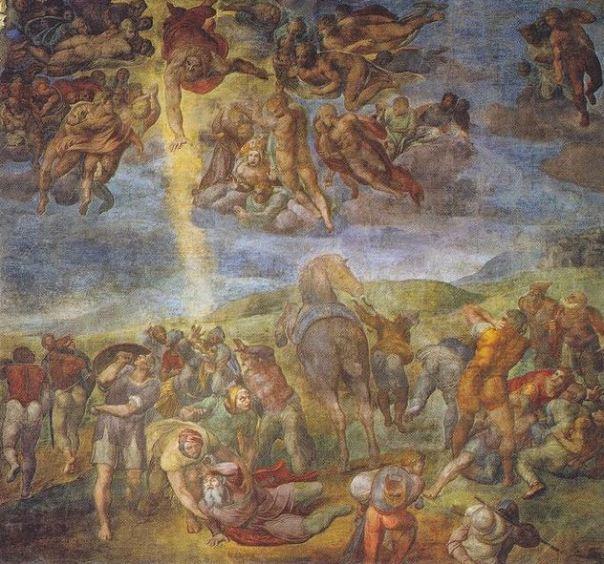 Conversión de San Pablo. Miguel Ángelus, Capilla Paulina del Palacio Apostólico Vaticano.