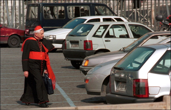 World cardinals meeting in Rome, Italy on May 23, 2001.