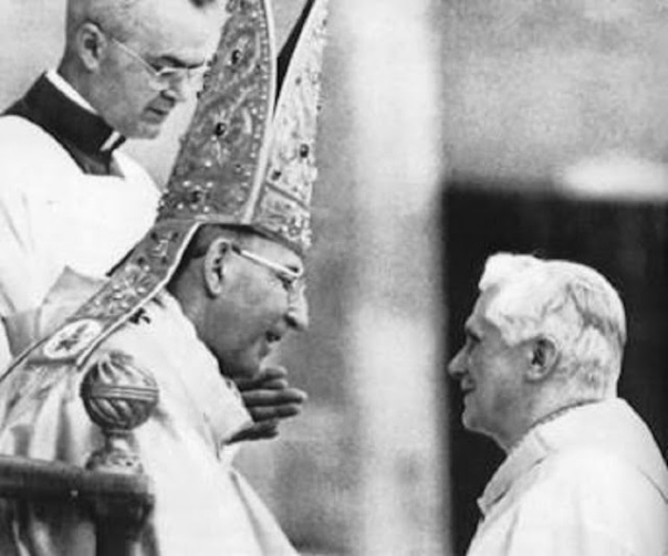 S.S. Juan Pablo I y Joseph Ratzinger