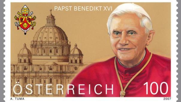 benedikt-2007-briefmarke-DW-Politik-Wien