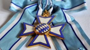 Detalle de la Orden al Mérito de Baviera