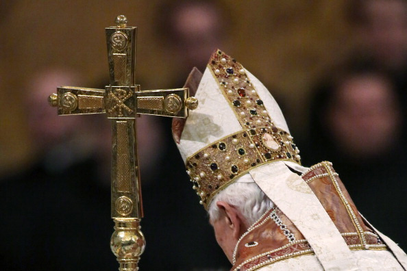 Pope Benedict XVI Vesper Prayer Service at St. Paul Basilica