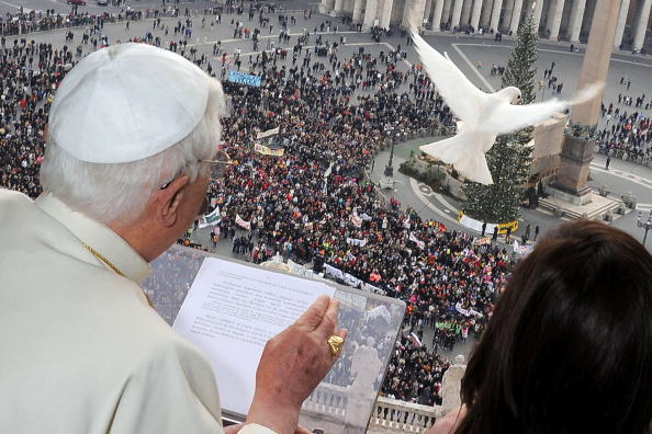Pope Delivers His Sunday Angelus Blessing