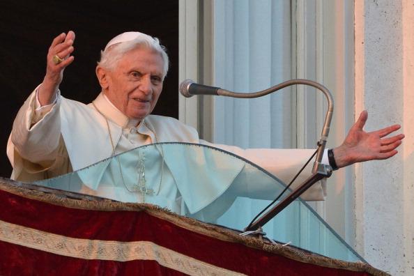 ITALY-VATICAN-POPE-CASTELGANDOLFO-LAST APPEARANCE