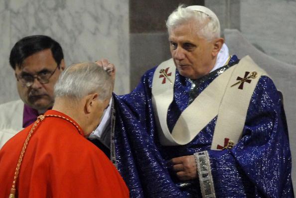 Pope Benedict XVI Celebrates Ash Wednesday