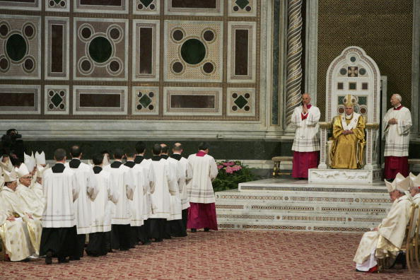 Holy Week Is Celebrated At The Vatican