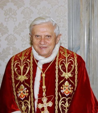 Pope Benedict XVI meets Nicaragua's Pres
