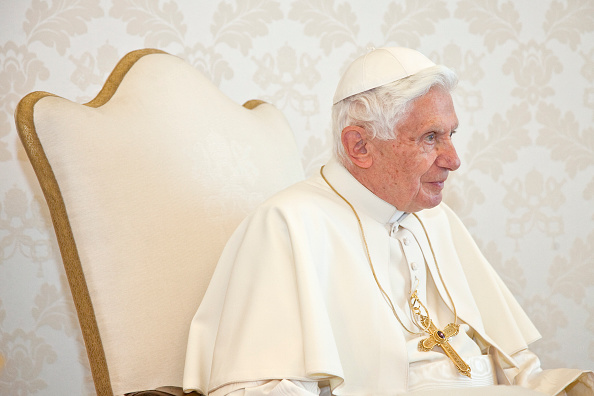 Italy - Vatican - Czech Republic Prime Minister Petr NECAS meets Pope Benedict XVI